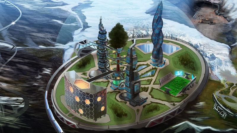 ArcoJun: the near future high school of Geneered